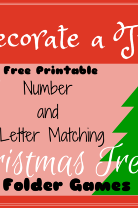Free Christmas Preschool Activity