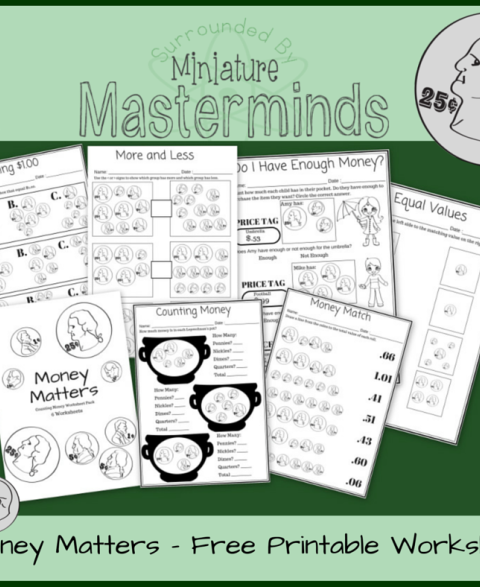money-counting-worksheets