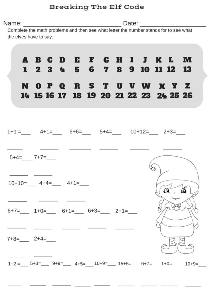 Boredom Busters Miniature Masterminds. Boredom Busters Addition Christmas Code Breaker Worksheet. Worksheet. Valentine S Day Secret Code Worksheet At Clickcart.co