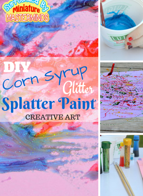 DIY-Corn-Syrup-Glitter-Splatter-Paint-Art