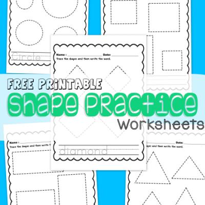 shapepracticeworksheets