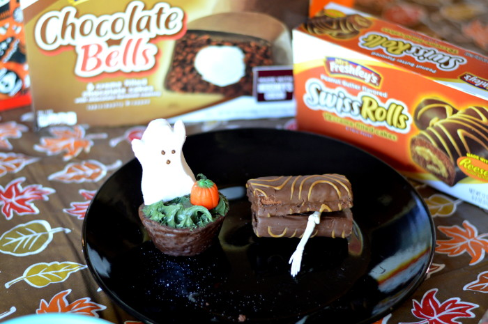 Easy Halloween Snacks with Mrs. Freshley's Snack Cakes