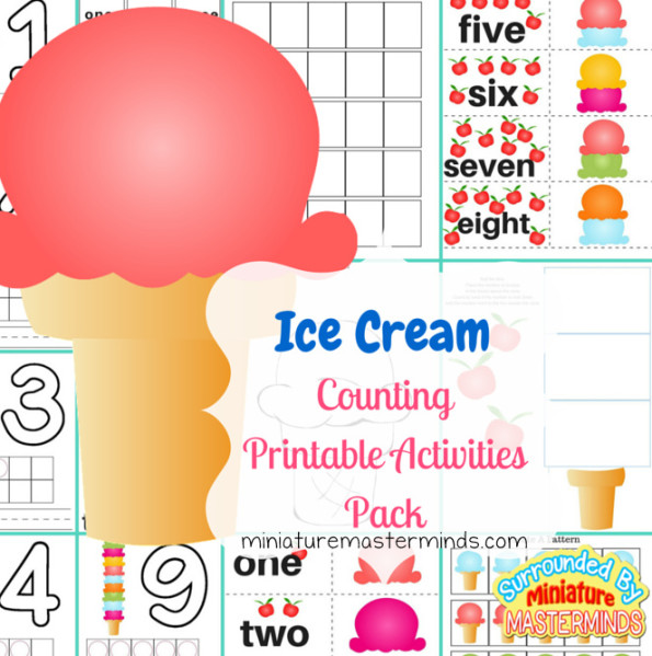 Ice Cream Scoop Math Printable Activities Pack - 6 Different Activities Included (1).png