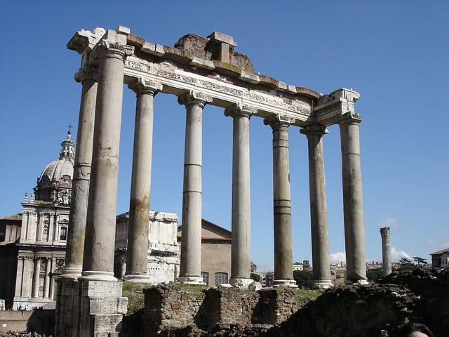 rome-forum-italy-building-columnar