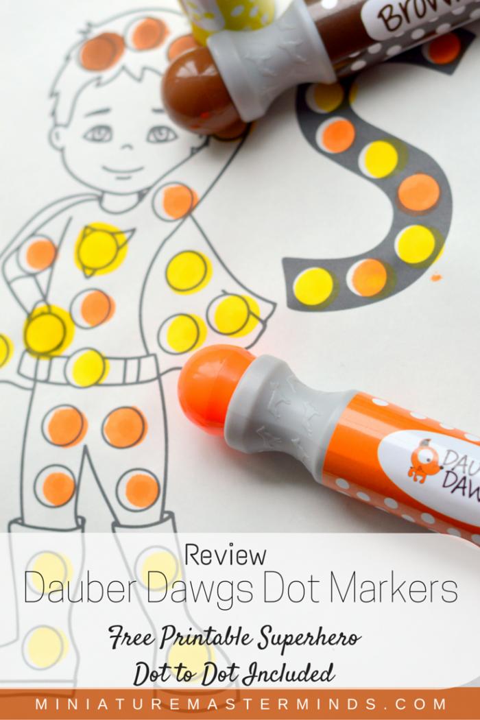 Dauber Dawgs Dot Markers Review