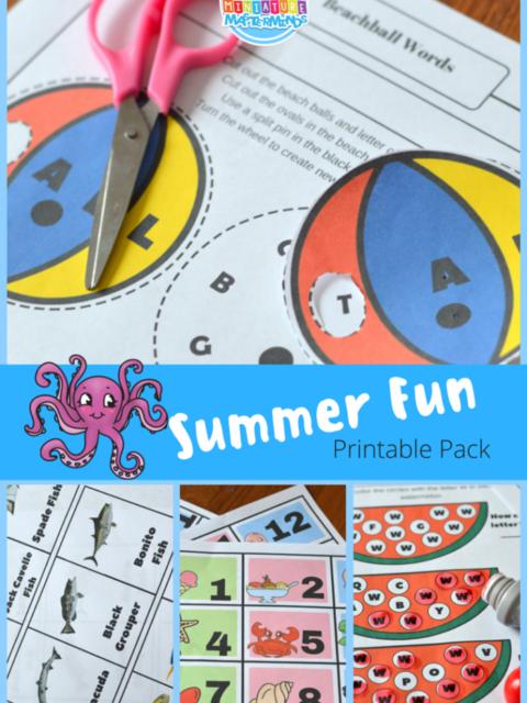 Summer Fun Printable Pack