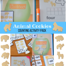 Animal Cookies Counting Activity Pack