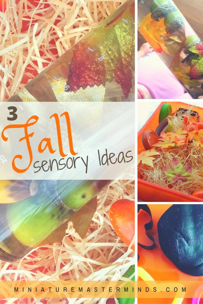 3-fall-seasonal-sensory-play-ideas-sensory-bottle-sensory-bin-and-halloween-themed-play-dough