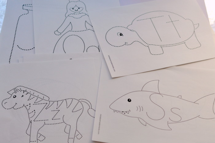 Alphabet Tracing Fun 26 Image And Letter Tracing Pages Miniature Masterminds
