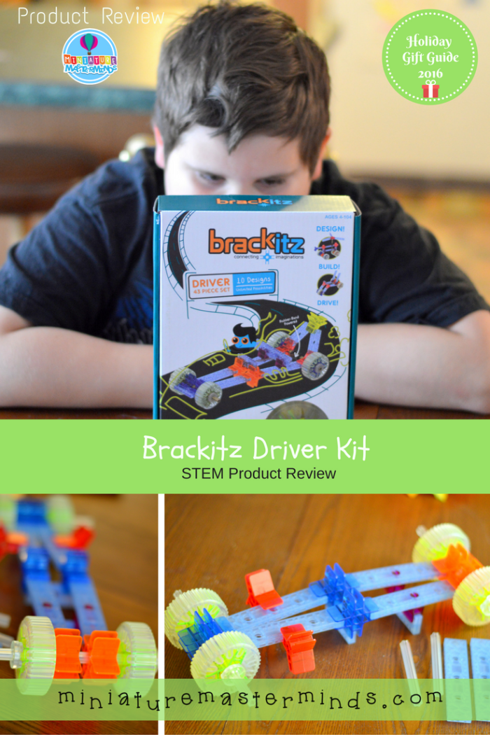 Brackitz Driver Kit Holiday Gift Guide Review
