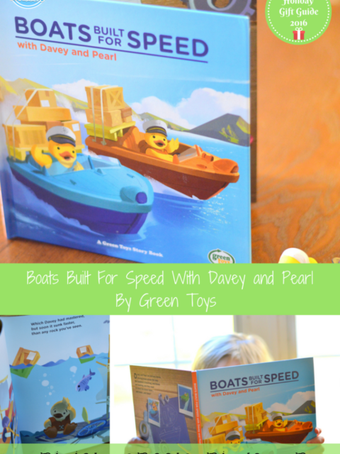 Boats Built For Speed With Davey and Pearl By Green Toys