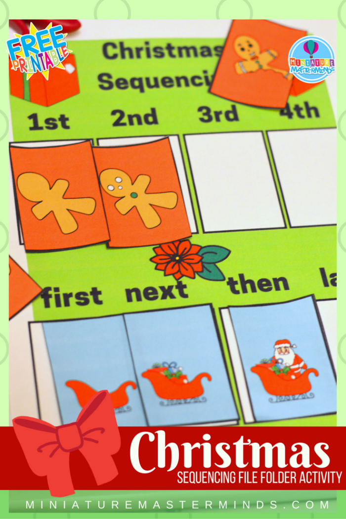 preschool sequencing games picture sequencing printable file folder 392