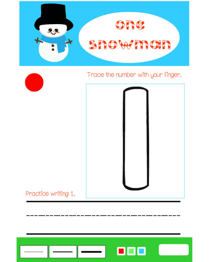 Online Ad-Free Flash Christmas Themed Number Practice Games
