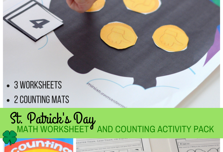 Wwii Worksheets Word St Patricks Day  Miniature Masterminds He She It Worksheets Pdf with Math Worksheet For Grade 2 Addition Word St Patricks Day Math Worksheet And Counting Activity Pack Greater Than  Less Than Equal To Before And After Missing Number Counting Addition Ee Phonics Worksheet Excel