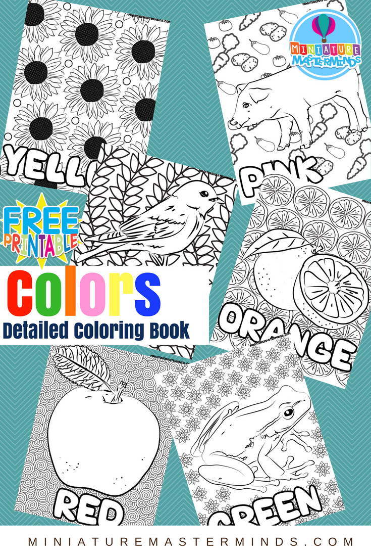 Coloring Pages – Miniature Masterminds
