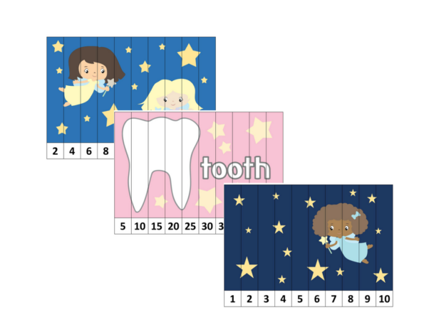 The Tooth Fairy 103 Page Printable PreschoolKindergarten Educational Pack