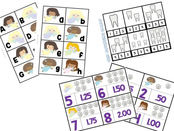 The Tooth Fairy 103 Page Printable PreschoolKindergarten Educational Pack