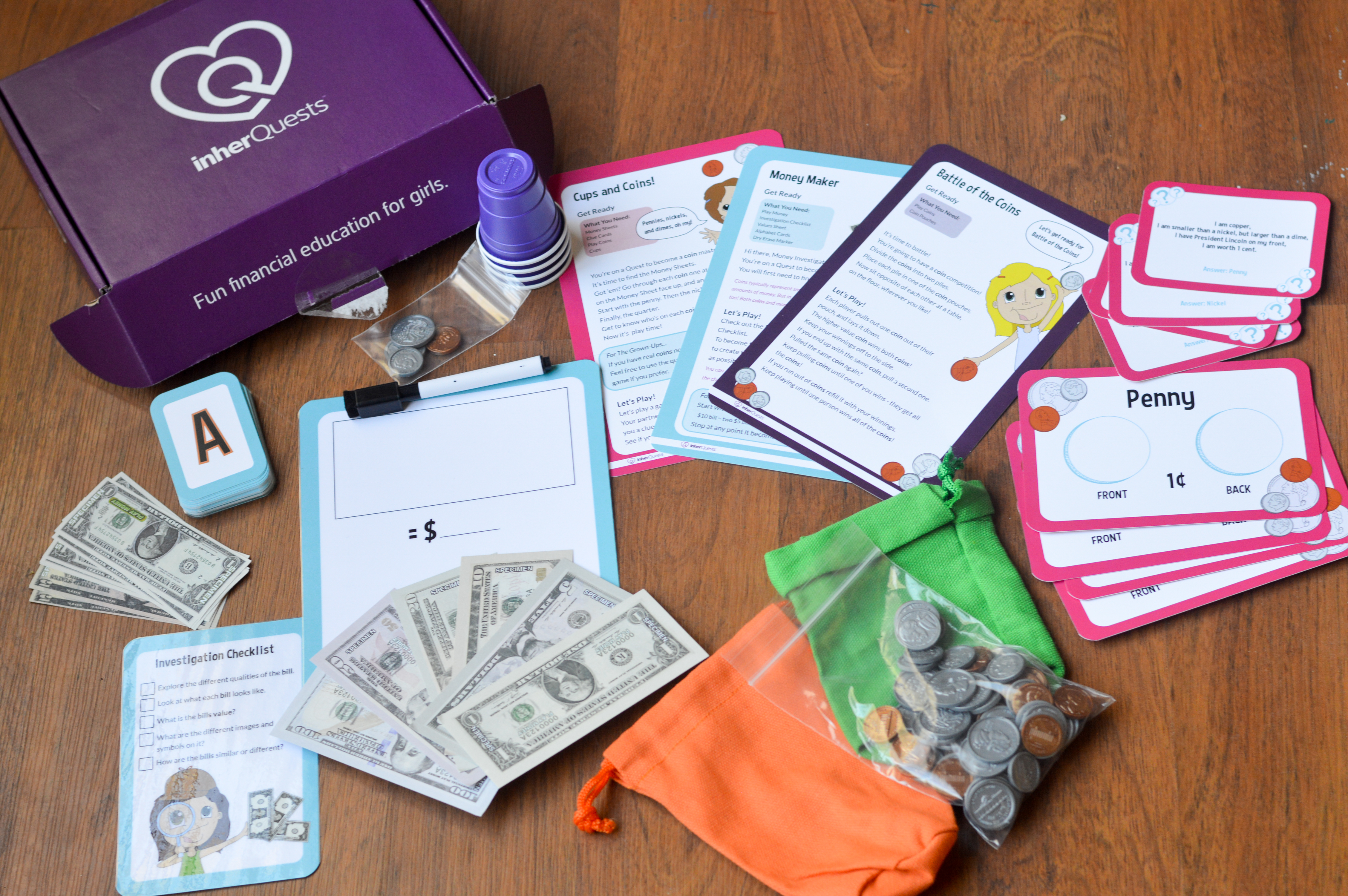inherQuests Fun Financial Educational Boxes Review