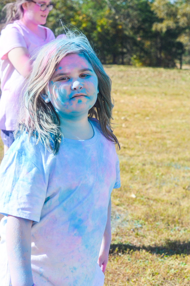 Have An Awesomely Messy Fun Color Party with Just Add Color Party #Ad #JustAddColor